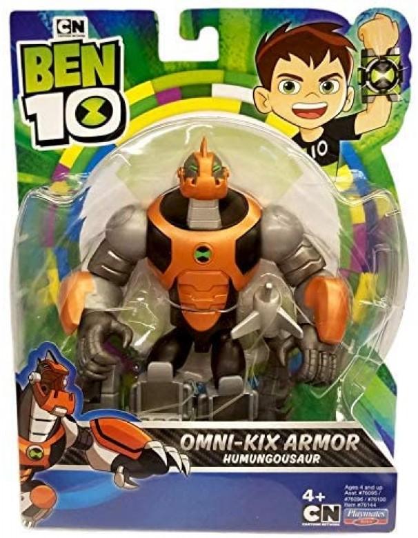 Ben 10  Action Figure Humungosaur Omni Kix Armor di Giochi Preziosi BEN55000