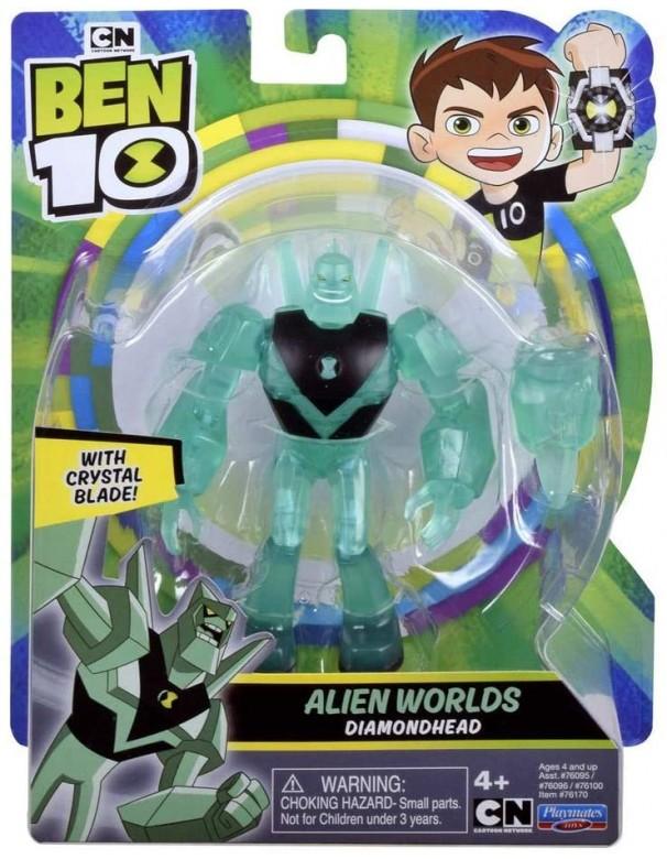 Ben 10 Base A12 Alien Worlds Diamondhead di Giochi Preziosi  BEN58000
