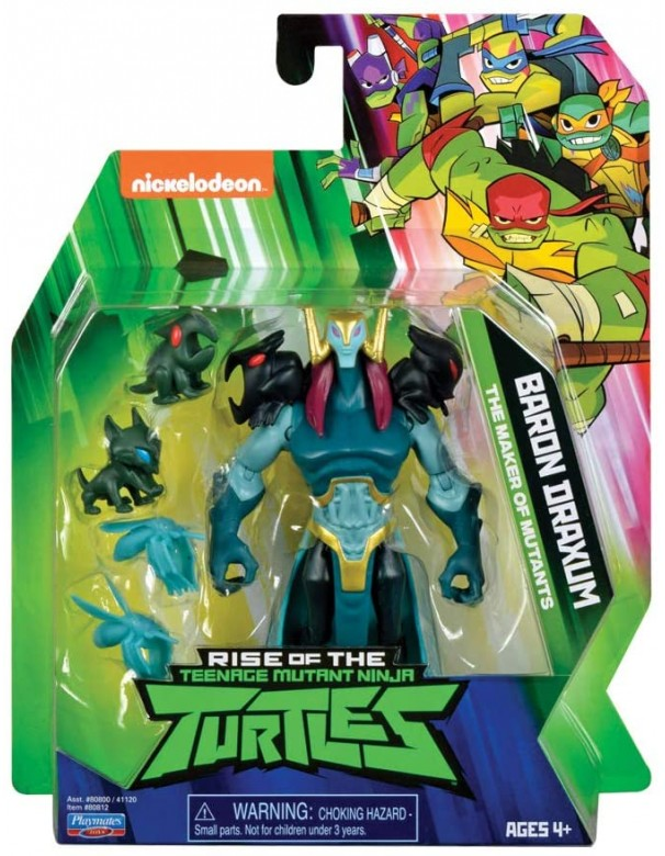 Teenage Mutant Ninja, Turtles Rise , Personaggi Base, Baron Draxum  di Giochi Preziosi