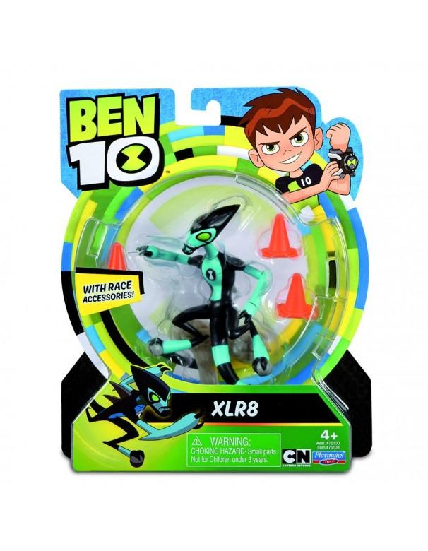 Ben 10 - Figura Base XLR8 (Giochi Preziosi BEN00000)