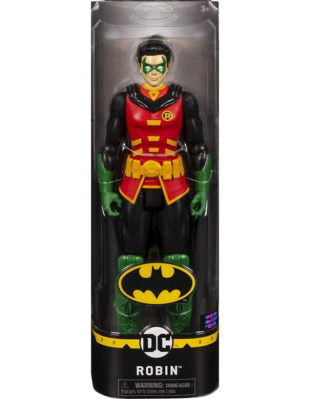 BATMAN Robin, Personaggio da 30 cm Articolato,Spin Master 6058527