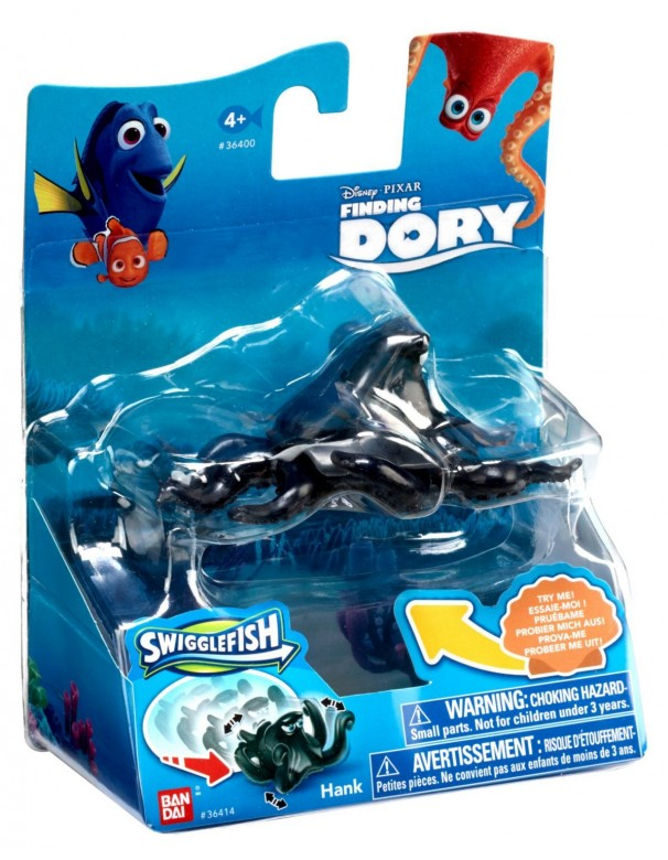 Finding Dory Swigglefish Hank nero di Giochi Preziosi