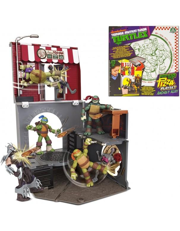 Turtles - Tartarughe Ninja Pop-Up Pizza Playset