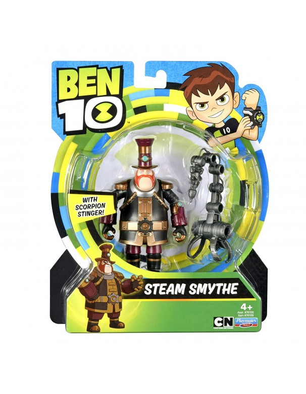 Ben 10 - Steam Smythe Figura Base (Giochi Preziosi BEN00000)