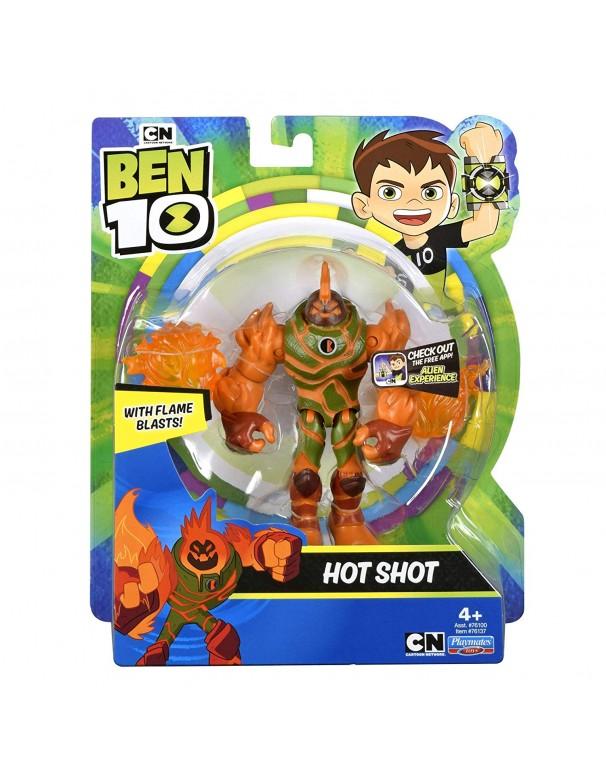 Ben 10 Hot Shot Action Figure di Giochi Preziosi BEN39000
