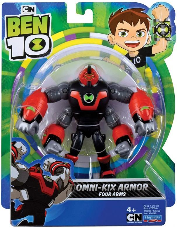 Ben 10 Action Figure-Four Arms Omni Kix Armor DI Giochi Preziosi BEN55000