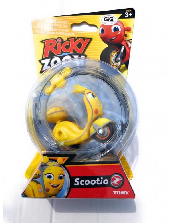 Nuovo Ricky Zoom - Scootio personaggio giocattolo circa 9 cm cod rcy 00000