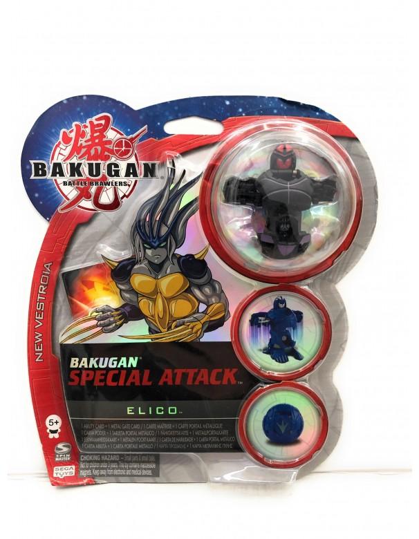 Bakugan - Collezzione Special Attack ELICO NERO