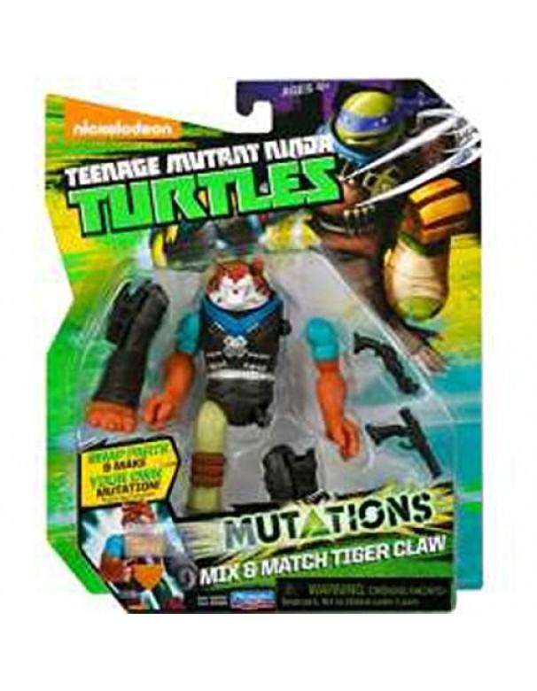 Teenage Mutant Ninja Turtles - Personaggio Mutations, Tiger Claw, 12 cm cod 90389 ass.90380