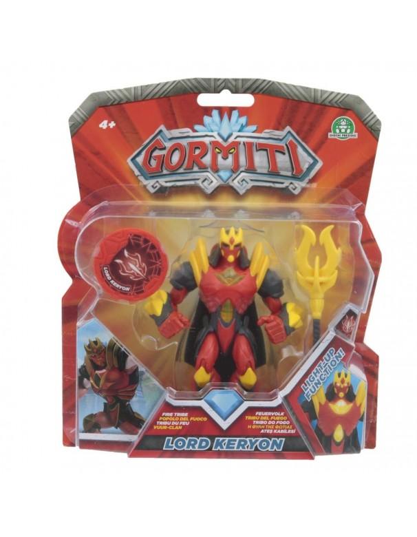 Gormiti Deluxe, Personaggio Keryon con Funzione Luce, 12 cm di Giochi Preziosi GRM02000