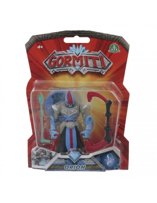 Gormiti Orion Personaggio Articolato con Token 8 cm di Giochi Preziosi GRM13000