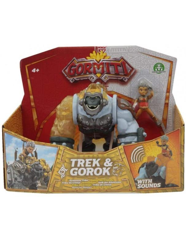 Gormiti S3 Hyperbeast Aplha Trek & Gorok, Giochi Preziosi GRA09000