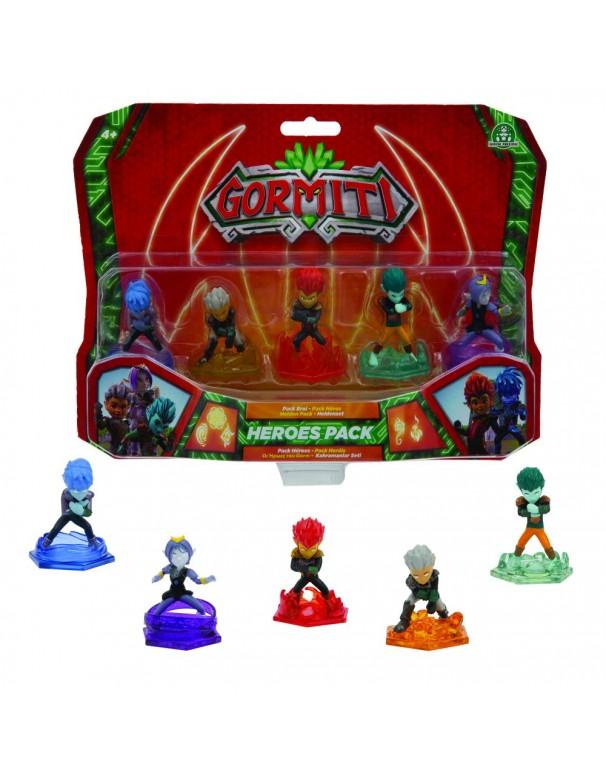 Gormiti, Serie 2, set 5 personaggi Ultra Heralds, 5 cm di Giochi Preziosi GRE06000