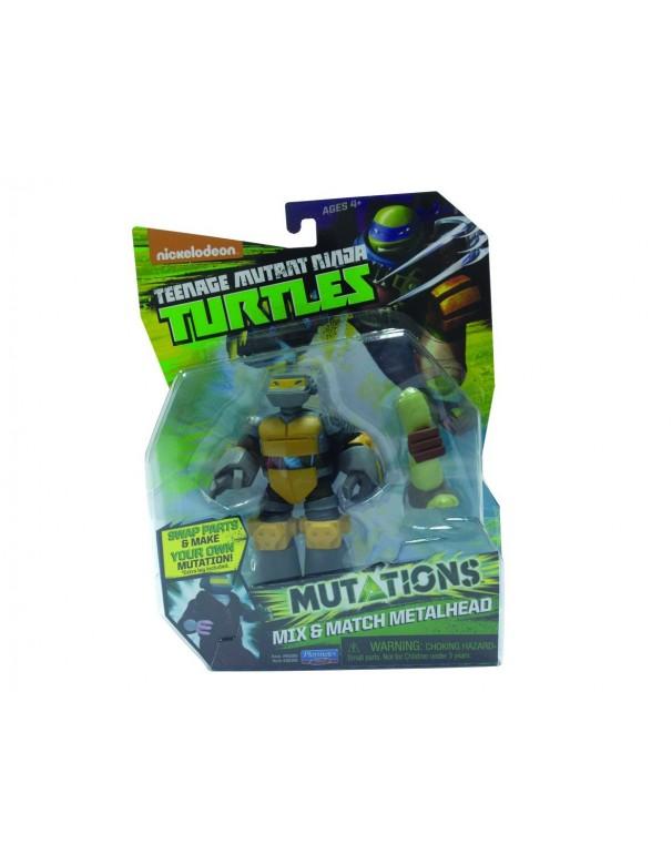Ninja Turtles – 5583 – Mix N' Match – Metalhead – Personaggio D´Animazione Trasformabile 12 Cm  cod 90388 ass.90380