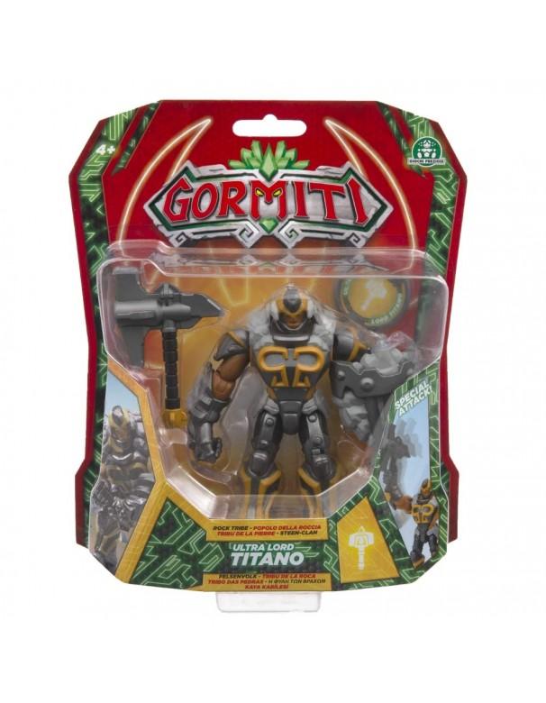 Gormiti, Personaggio Deluxe 12 cm, Ultra Lord Titano di Giochi Preziosi GRE02000