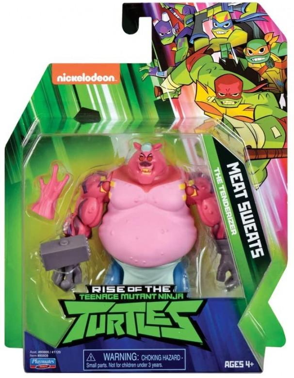 Teenage Mutant Ninja, Turtles Rise , Meat Sweats Giochi Preziosi TUAB0A11