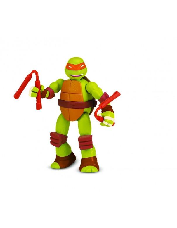 Ninja Turtles – 5583 – Mix N' Match – mikey - MICHELANGELO  – Personaggio D´Animazione Trasformabile 12 Cm  cod 90383 ass.90380
