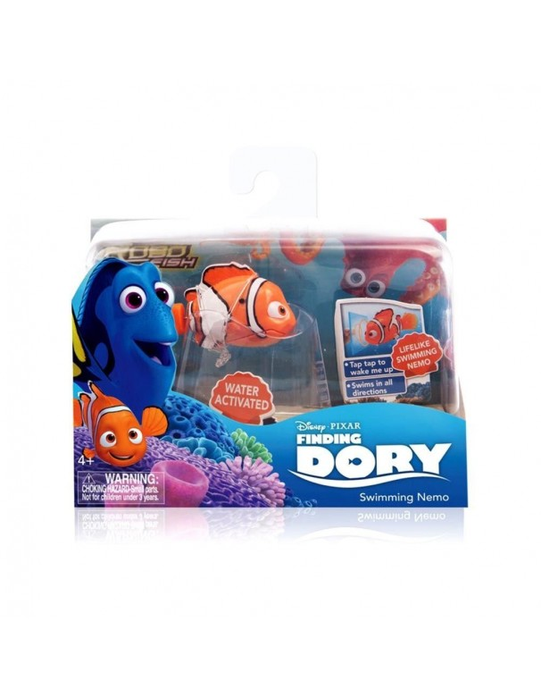 Disney Pixar - Alla Ricerca di Dory - Swimming Nemo - Personaggio che si Attiva nell'Acqua