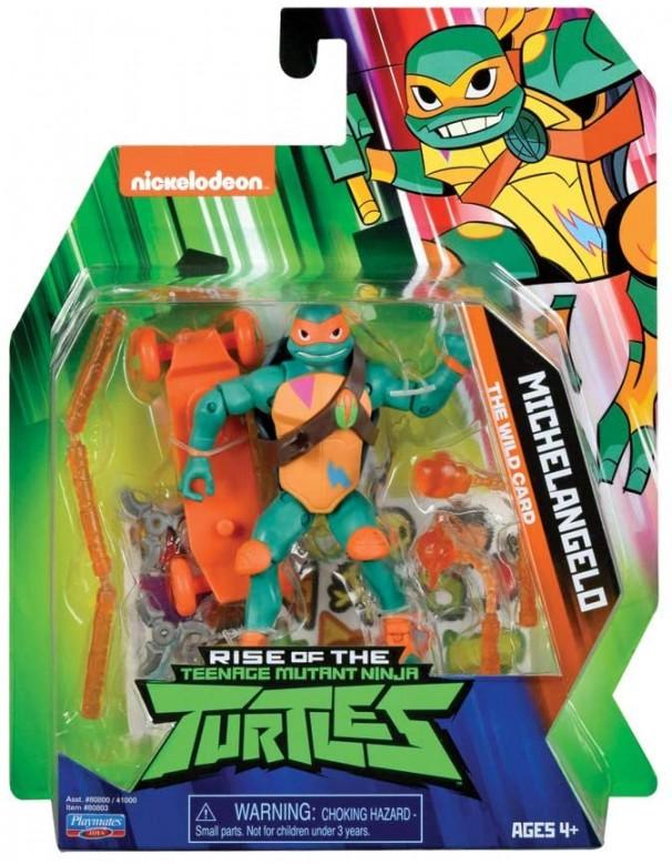 Teenage Mutant Ninja, Turtles Rise, Michelangelo di Giochi Preziosi TUAB0A11