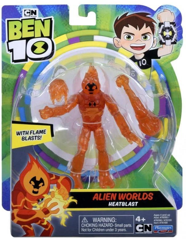 Ben 10 Base A12 Alien Worlds Heatblast, Giochi Preziosi BEN58000