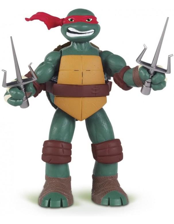 Giochi Preziosi GPZ91160/3 Turtles Raffaello Deluxe C/Suoni, 15cm