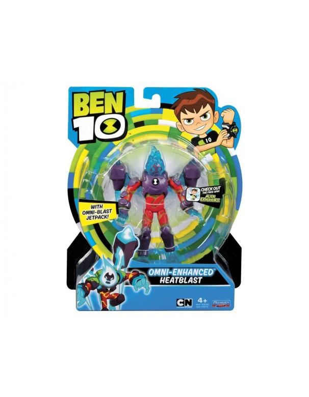 Ben 10 Action Figure – Omni enhanced Heatblast (Inferno)