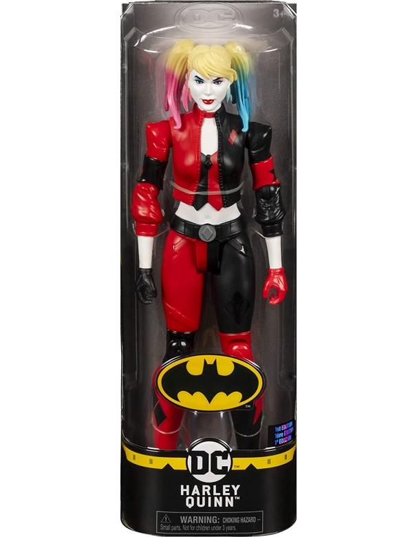 Batman Harley Quinn Personaggio da 30 cm Articolato, Spin Master 6058527