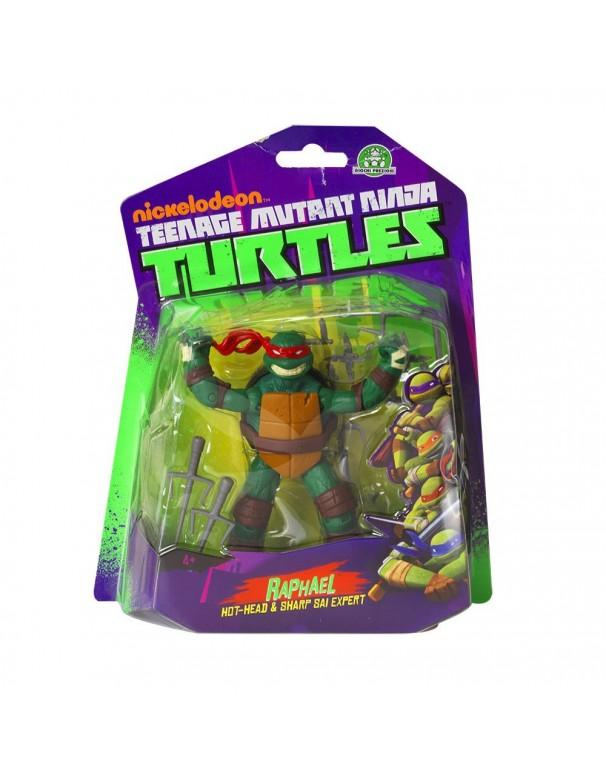 Turtles Personaggio Base Raffaello, 10 cm teenage mutant ninja