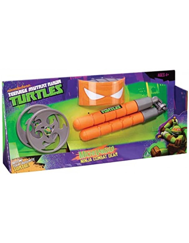 Tartarughe Ninja -Teenage Mutant Ninja Turtles Armi ninja Combat Gear con mascheriana Michelangelo