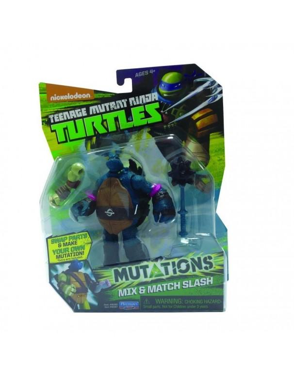 Teenage Mutant Ninja Turtles - Mix-n-Match, Action figure di Slash cod 90387 ass.90380