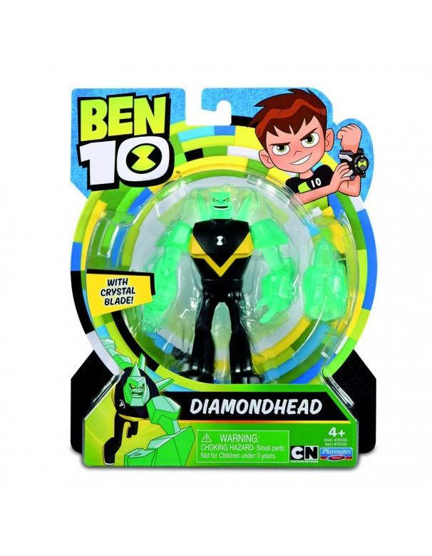 Giochi Preziosi - Ben 10 Personaggio, 13 cm circa,  Diamante