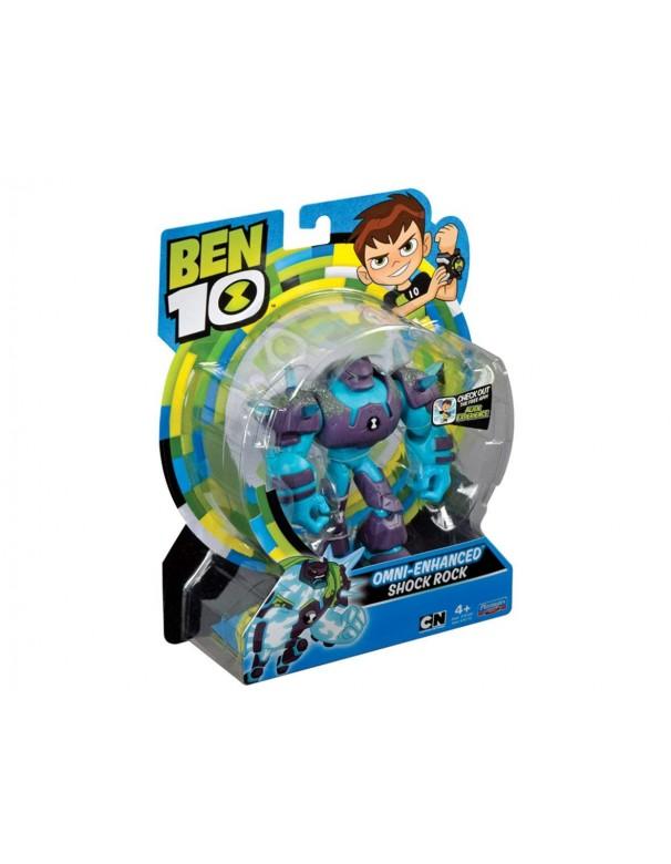 Ben 10 - Omni-Enhanced Shock Rock figura articolata di Giochi Preziosi