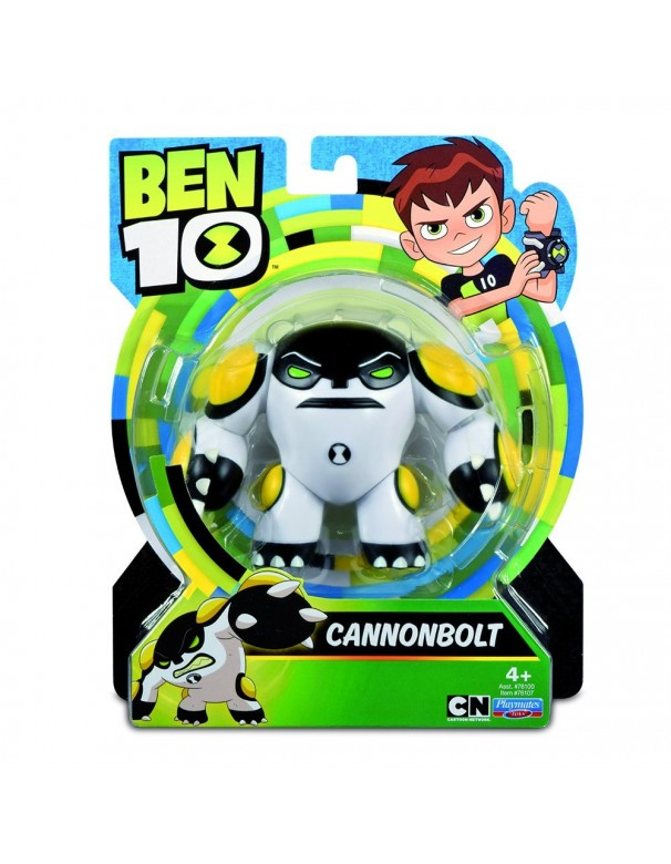 Ben 10 - Figura Base di Cannonbolt (Giochi Preziosi BEN00000)