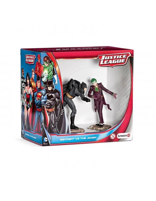 Schleich 2522510 Confezione Scena Batman Contro The Joker