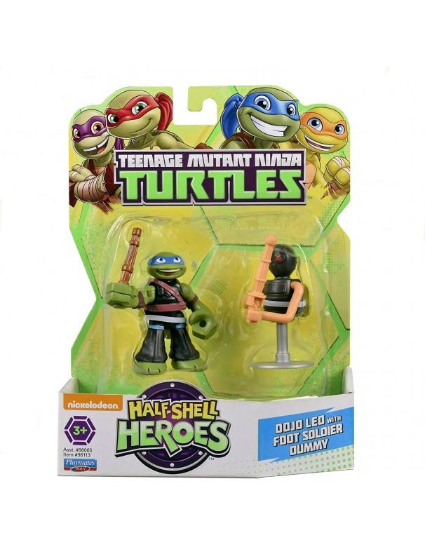 Teenage Mutant Ninja Turtles Dojo Leo with Foot Dummy