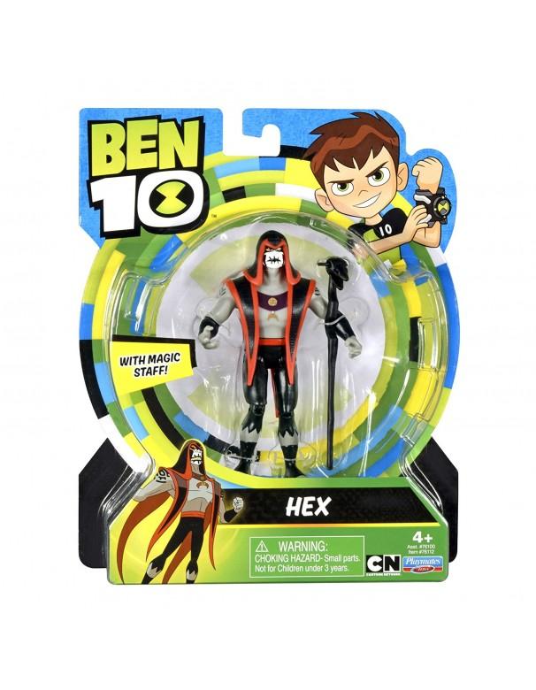 Ben 10 -  Hex Figura Base (Giochi Preziosi BEN00000)