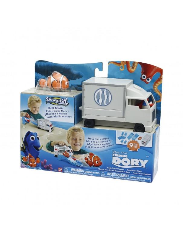 Finding Dory , Set Gioco Camion con Personaggio Marlin di Giochi Preziosi FND08000
