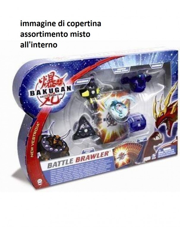 bakugan Battle Brawler - Collezzionabili con 2 bakugan trap e 2 bakugan + 2 bakugan Special Attack ass.misto