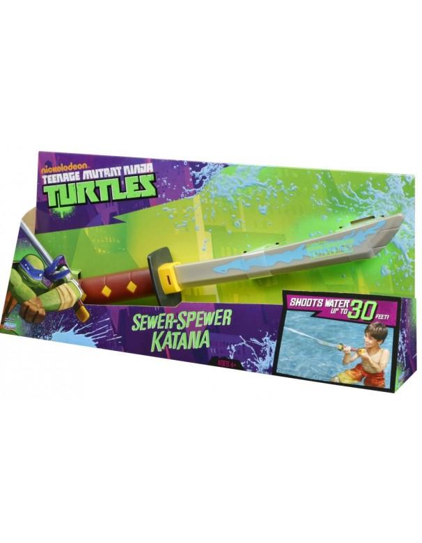 Tartarughe Ninja -Teenage Mutant Ninja Turtles Sewer-Spewer Katana SPARA ACQUA