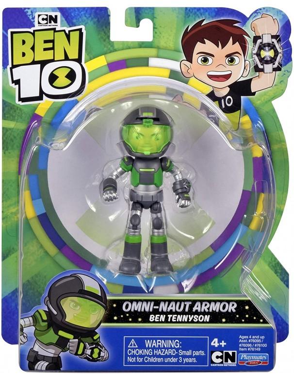 Ben 10 Action Figures-Space Armor Ben-Naut Armor, Giochi Preziosi BEN58000