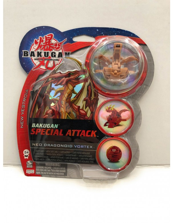 Bakugan - Collezzione Special Attack NEO DRAGONOID VORTEX MARRONE