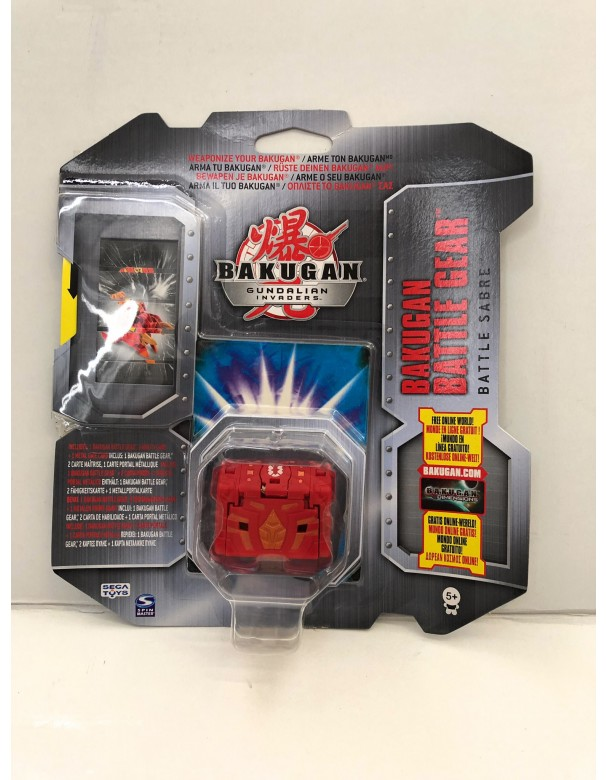 Bakugan Gundalian Invaders - Collezzione Trappole Gear BATTLE SABRE