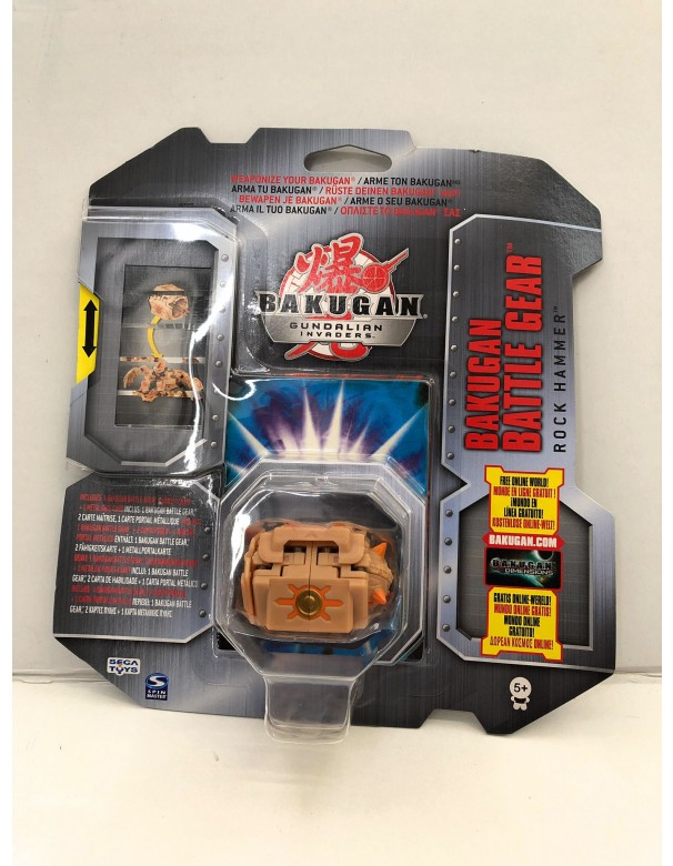 Bakugan Gundalian Invaders - Collezzione Trappole Gear ROCK HAMMER