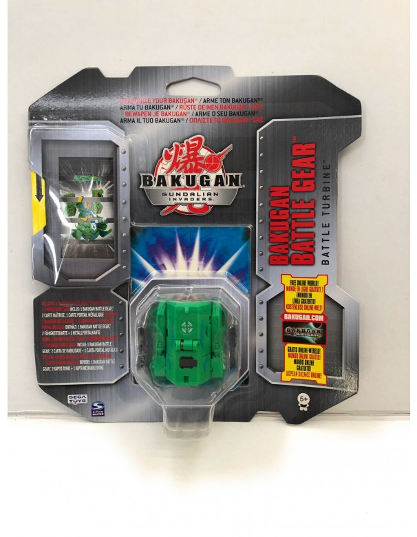 Bakugan Gundalian Invaders - Collezzione Trappole Gear BATTLE TURBINE