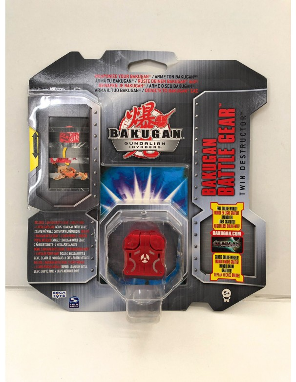 Bakugan Gundalian Invaders - Collezzione Trappole Gear TWIN DESTRUCTOR