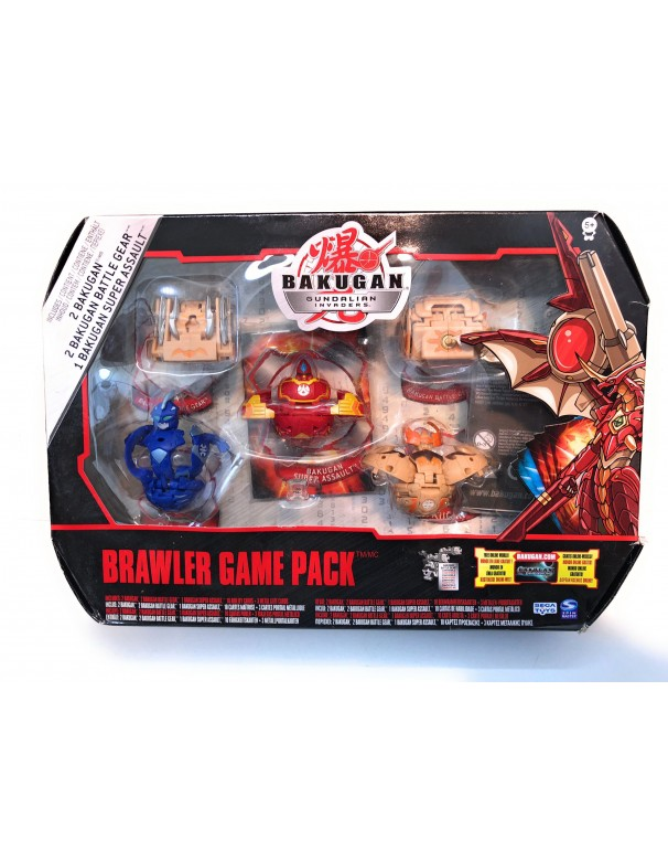 Bakugan Gundalian Invaders - Collezzione Brawler Game Pack 5