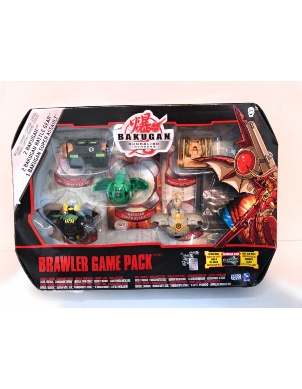Bakugan Gundalian Invaders - Collezzione Brawler Game Pack 4