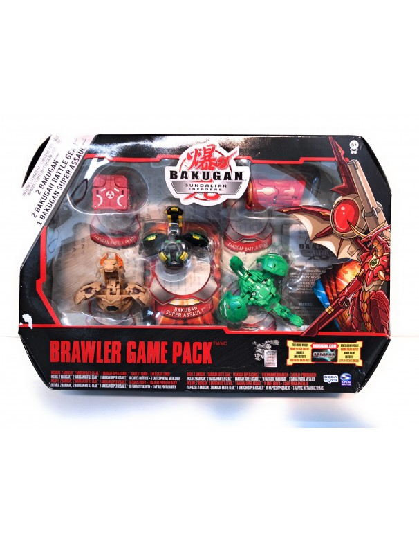 Bakugan Gundalian Invaders - Collezzione Brawler Game Pack 2