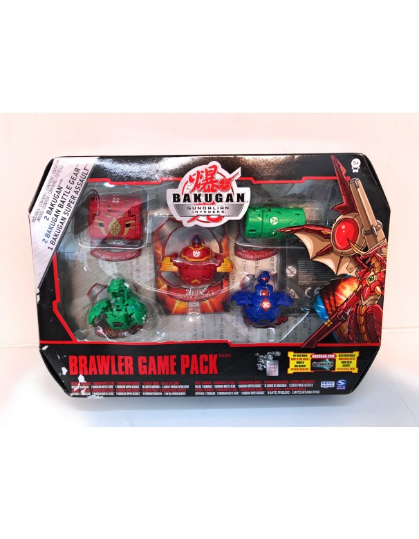 Bakugan Gundalian Invaders - Collezzione Brawler Game Pack 1
