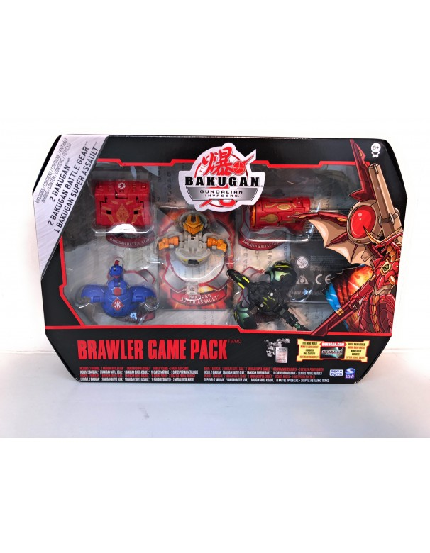 Bakugan Gundalian Invaders - Collezzione Brawler Game Pack